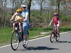 Cyklostezka Bečva. Ilustrační foto