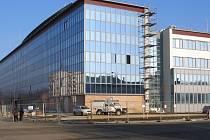 Nová policejní budova vyrostla během dvou let na sídlišti Kopaniny.