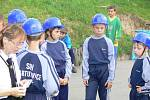 V sobotu 4. června proběhly hasičké dětské závody na fotbalovém hřišti v Opatovicích.