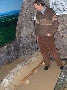 Mamutí kel se už nachází v expozici archeologie na zámku v Přerově.