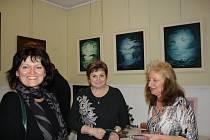 Malování s anděly v Galerii M+M