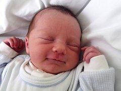 Jakub Sedlák, Lověšice,  narozen dne 14. dubna 2015 v Přerově, míra: 47 cm, váha: 3200 g