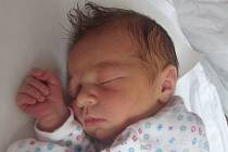 Veronika Hradilová, Veselíčko, narozena dne 9. února 2014 v Přerově, míra: 51 cm, váha: 3850 g