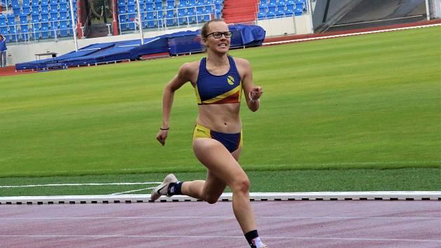 Adéla Zdražilová ve Vítkovicích.