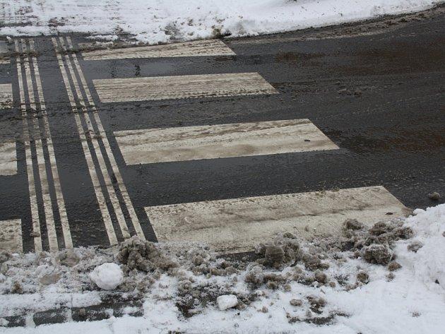 Silnice jsou v Hranicích sjízdné