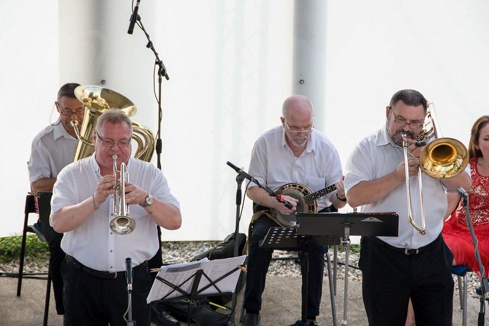Hranické kulturní léto 2021 - olomoucký Dixieland Jazz Band.