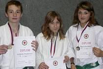 Zleva: Robert Trojnar, Petra Bakovská, Marie Holčáková.