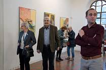 Výstava malíře a restaurátora Jana Severy v Galerii Synagoga.