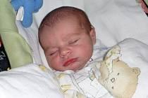 Jiřík Wolf, Přerov, narozen 19. 4. v Přerově, míra 51 cm, váha 3 380 g