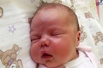 Nikol Kubíková, Měrovice nad Hanou, narozena dne 11. srpna 2014 v Přerově, míra: 51 cm, váha: 3 904 g