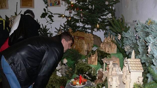 Výstvava betlémů v Galerii M+M