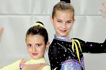 Adéla Šebíková a Michaela Šlosarová.