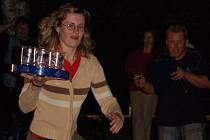 Na Pivních slavnostech se milovníci pěnivého moku mohli zapojit do nejrůznějších soutěží.