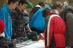 Projektový den s názvem Strojírenství – naše priorita v hranické dvoraně