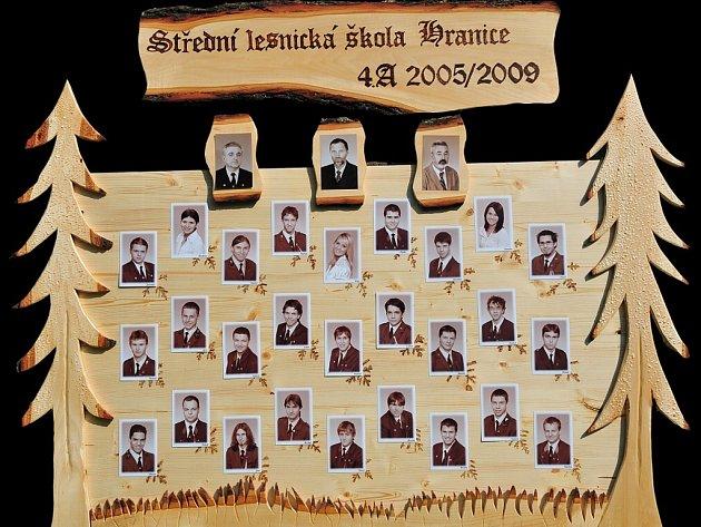 1. Středni lesnická škola Hranice, třída 4.A