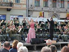 Koncert armádního souboru a sólistů v Lipníku