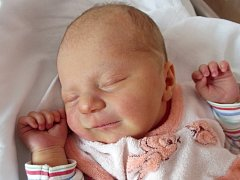 Elena Horáková, Přerov, narozena dne 21. března 2015 v Přerově, míra: 50 cm, váha: 3420 g