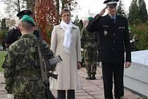 Den válečných veteránů si v úterý připomněli vojáci ze 7. mechanizované brigády a obyvatelé Hranic