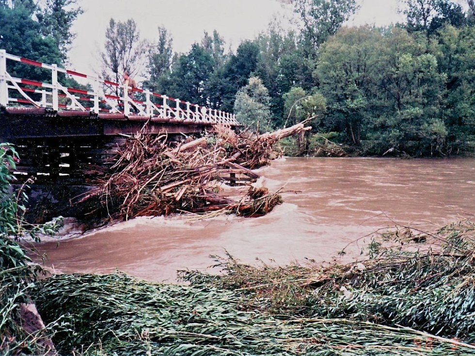 Povodeň 1997 - Hustopeče nad Bečvou