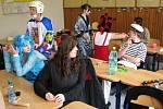 Poslední zvonění maturantů hranického gymnázia