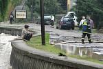 Povodně Hranice: čtvrtek 25. června dopoledne