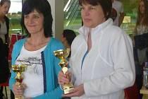 Tenistky Hloušková a Petková získaly na MČR třetí místo
