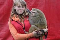 Karolína Berousková i zvířata z cirkusu Berosini vystupují v Hranicích