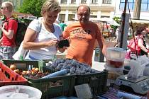 Farmářský trh na hranickém náměstí