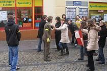 Přerovští gymnazisté v současné době natáčejí dokument, se kterým by chtěli uspět na festivalu amatérské tvorby s názvem Náchodská Prima Sezona.