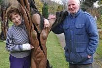 Manželé Musilovi už sedmnáct let úspěšně provozují galerii M+M