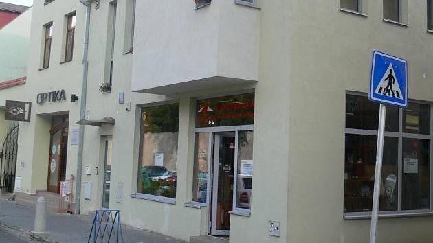 Obchod ve Školní ulici, kde došlo k neobvyklé krádeži.