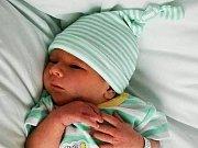 Tobiáš Tomčík, Dřevohostice, narozen dne 28. července 2016 v Přerově, míra: 52 cm, váha: 3670 g