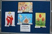 Ve dvoraně hranického zámku byli v pondělí 22. května oceněni výherci výtvarné soutěže Děti Dětem