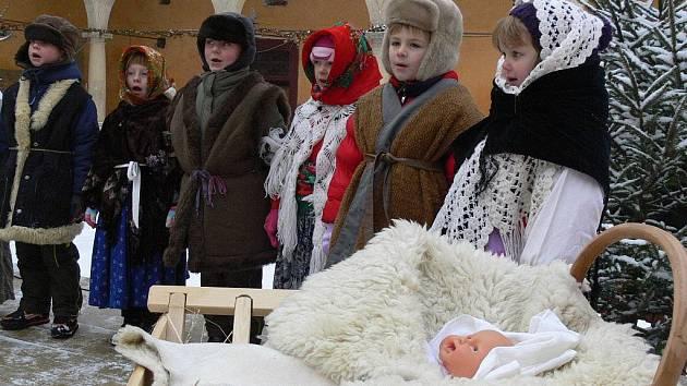 Vánoce na zámku v Hustopečích. Ilustrační foto