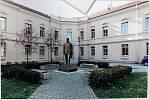 č.17. Autor: Josef Faltus. Návrh památníku TGM v Hranicích