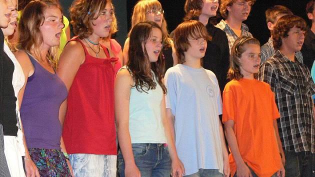 Závěrečný koncert Bělotínského týdne zpěvu
