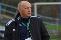 Trenér Hranic Rostislav Sobek.