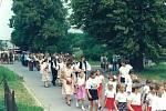 Sbor dobrovolných hasičů Hluzov oslavil v roce 1992 výročí 100 let od svého založení. Během velkolepých oslav prošel obcí slavnostní průvod, který vedl od hluzovské hasičárny do Černotína.