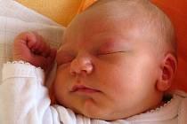 Matyáš Kruták, Hranice, narozen 30. června v Přerově, míra 50 cm, váha 3 460 g