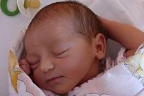 Marie Štolcarová, Hranice, narozena  28. května ve Valašském Meziříčí, míra 50 cm, váha 3 300g