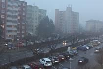 V Hranicích v úterý 6. března udeřil smog.