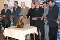 V pondělí 27. srpna slavnostně zahájili provoz nové vodovodní sítě na Potštátsku