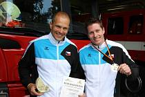 Tomáš Zobaník (vlevo) a Martin Plšek (vpravo) jsou oporou českého reprezentačního družstva