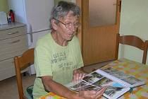 Paní Zdeňka Veverková má zkušenosti již ze čtyř povodní. Ta před třemi lety prý byla nejhorší