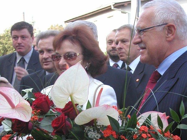 Prezidentský pár naposledy zavítal do přerovského regionu před třemi lety, kdy navštívil i zvonařskou dílnu v Brodku u Přerova.
