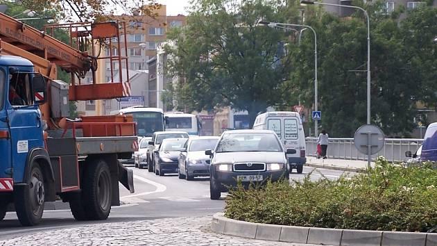 Dopravní kolaps.