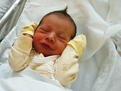 Sebastián Klein, Přerov, narozen dne 10. 4. 2014 v Přerově, míra: 50 cm, váha: 3182 g