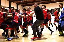 Divizní florbalisté FBC Hranice zakončili skvělou sezonu postupem do Národní ligy.