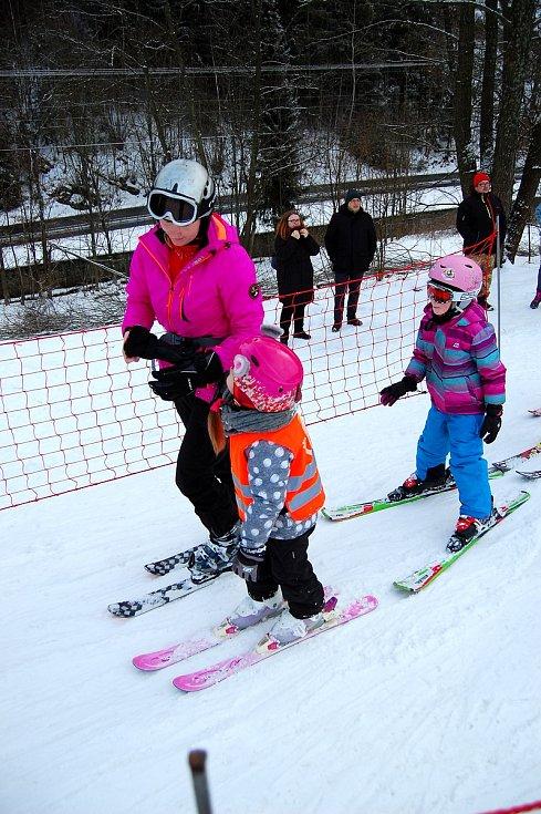 Lyžařskou školu v Potštátě letos navštěvovalo 75 dětí. Slavnostní zakončení se chystá na neděli 4. února