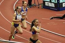 Adéla Zdražilová v rámci Czech Indoor Gala 2020.